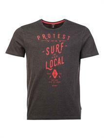 Protest Arizona heren shirt antraciet