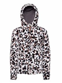 Protest Barbara Full Zip Hoody meisjes fleece zwart dessin