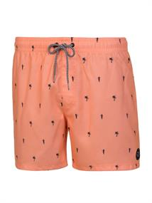 Protest Barton heren beach short zalm