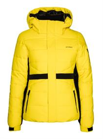 Protest BECCA snowjacket dames snowboard jas geel