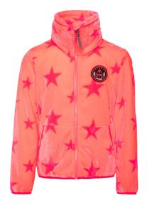 Protest Bellevue 1/4 Zip Top meisjes fleece oranje