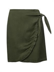 Protest Cam Skirt dames casual rok donkergroen