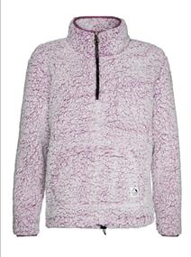 Protest CAMILLE 1/4 zip top dames fleece paars