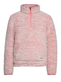 Protest DEMI JR 1/4 zip top meisjes fleece rose