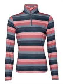 Protest Every 1/4 Zip Top dames ski pulli met rits rose
