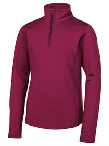 Protest Fabrizoy 200 Gr. junior ski pulli met rits steenrood