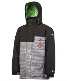 Protest Fink jongens ski/snowboard jas zwart