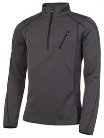 Protest Humany  1/4 zip top heren ski pulli antraciet