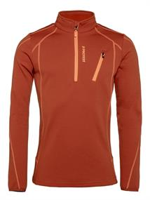 Protest Humany 1/4 Zip Top heren ski pulli oranje
