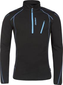 Protest Humany  1/4 zip top heren ski pulli zwart