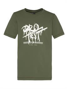 Protest HYDE JR surf t-shirt uv shirt jongens donkergroen