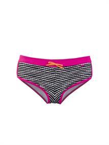 Protest Imber meisjes bikini broekje zwart dessin