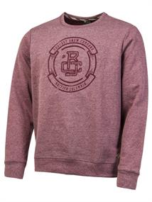 Protest Jeremy heren sweater steenrood