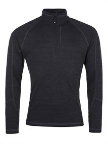Protest Louisiana 1/4 Zip heren ski pulli zwart
