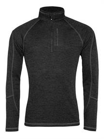 Protest Louisiana 1/4 Zip Top heren ski pulli zwart