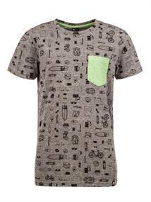 Protest Marius Jr jongens shirt antraciet