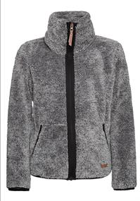 Protest RIRI 20 JR full zip top meisjes fleece antraciet