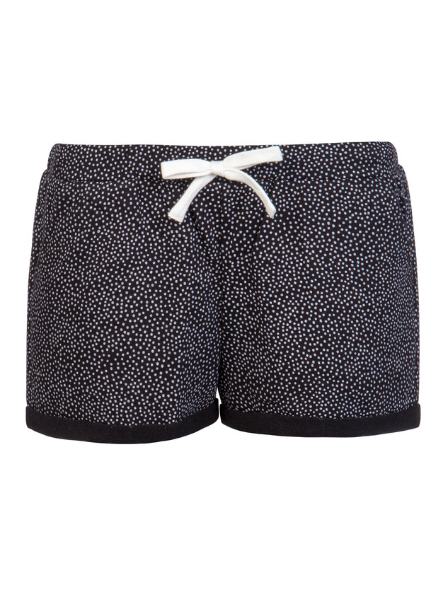 Korte Broek Zwart Dames.Protest Roshi Dames Short Zwart Van Shorts