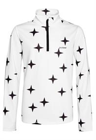 Protest STAR JR 1/4 zip top junior ski pulli met rits wit