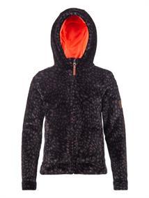 Protest Tuuli FZ Hoody meisjes casual sweater zwart dessin