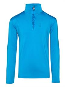 Protest Willowy Jr junior ski pulli met rits aqua-azur