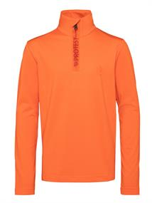 Protest Willowy Jr junior ski pulli met rits oranje