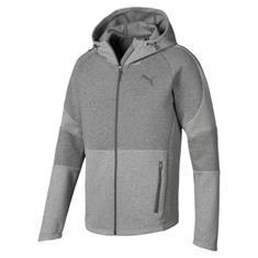 Puma Evostripe Move Hood heren sportsweater midden grijs