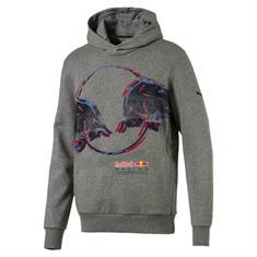 Puma RBR Double Bull Hood heren sportsweater midden grijs