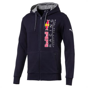 Puma RBR Hooded Sweat Jkt Heren sportsweater marine