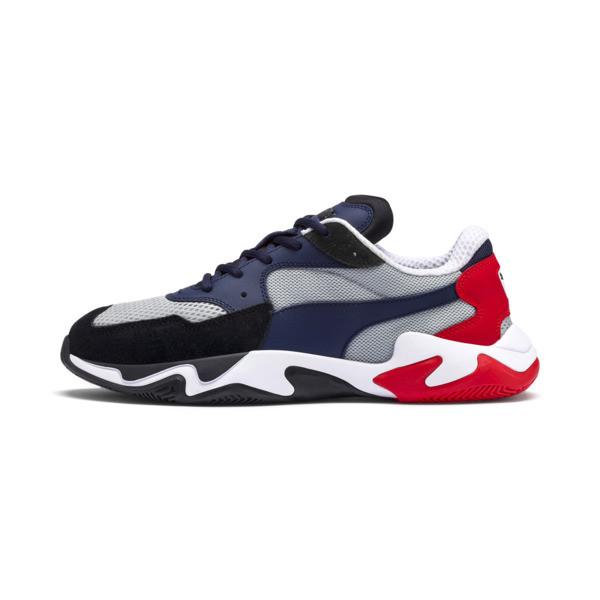 Puma Storm Origin heren sneakers zwart dessin