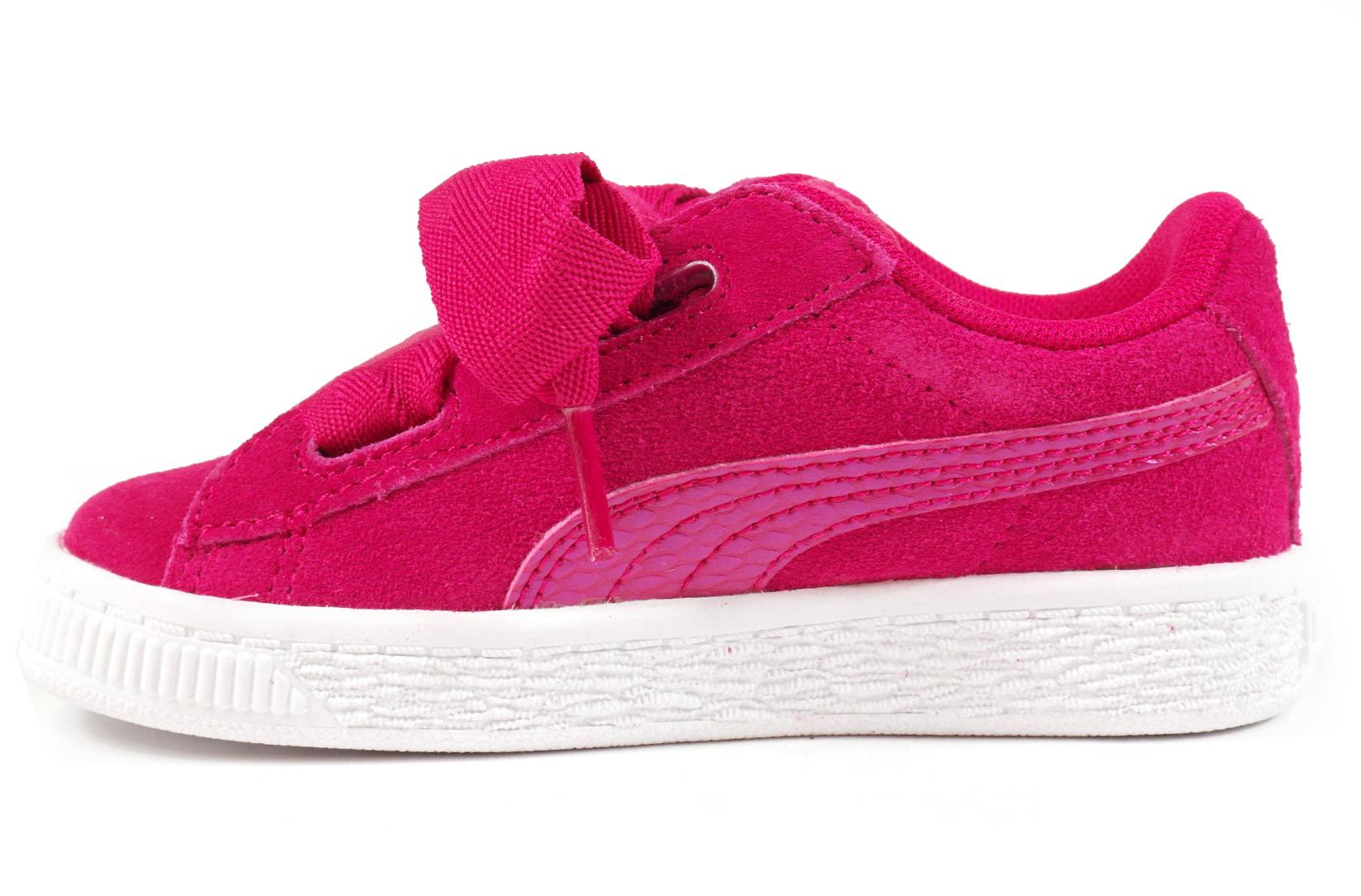 f701f58df4f Puma Suede Heart baby meisjesschoenen pink van sneakers