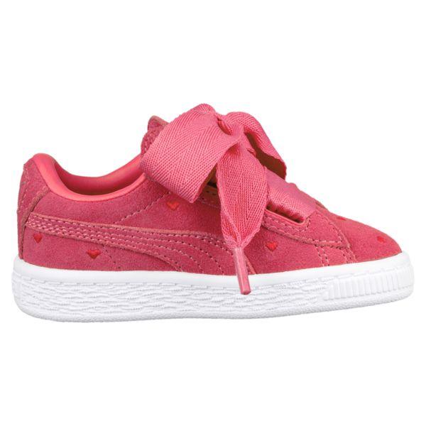 1ed74a566f1 Puma Suede Heart Valentin baby meisjesschoenen pink