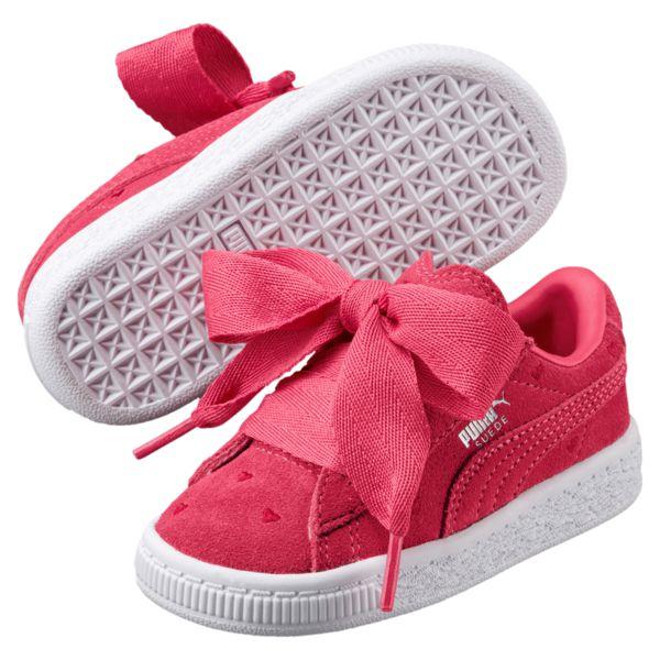 d5d58b9a8ad Puma Suede Heart Valentin baby meisjesschoenen pink Puma Suede Heart  Valentin baby meisjesschoenen pink ...