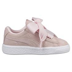 Puma Suede Heart Valentin meisjes schoenen ecru