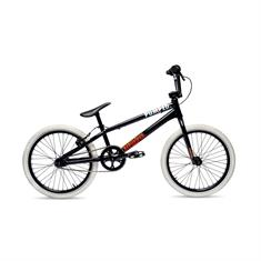 Pumped Pump'r Black Red 20 Inch bmx fiets zwart