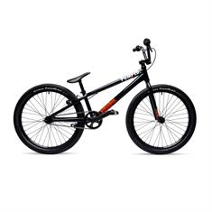 Pumped Pump'r Black Red 24 Inch bmx fiets zwart