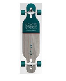 Ram Ciemah Mini 36. longboard donkergroen