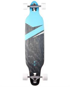 Ram Lokz Marina Blue longboard blauw
