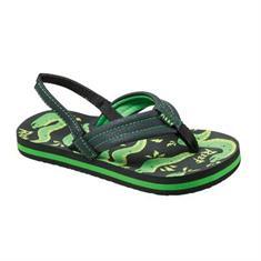 Reef Ahi t/m maat 33 +Hak jongens sandalen zwart