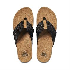 Reef Cushion dames slippers zwart