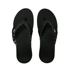 Reef dames slippers zwart
