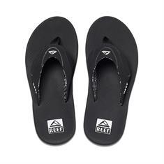 Reef Fanning dames slippers zwart