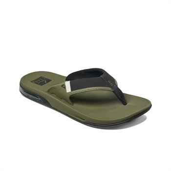 Reef Fanning Heren slippers khaki