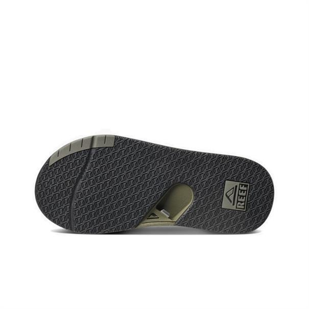 Reef Fanning Low heren slippers donkergroen