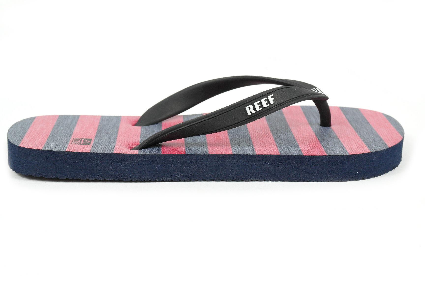 c4c744d1bccbe4 Reef Grom SwitchfootPrint jongens slippers denim van slippers & sandalen