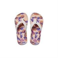 Reef Kids Ahi meisjes slippers wit