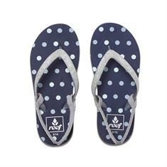 Reef L. Starg. t/m 33+hak meisjes sandalen licht grijs