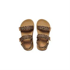 Reef Little Ahi / Kids meisjes sandalen bruin dessin