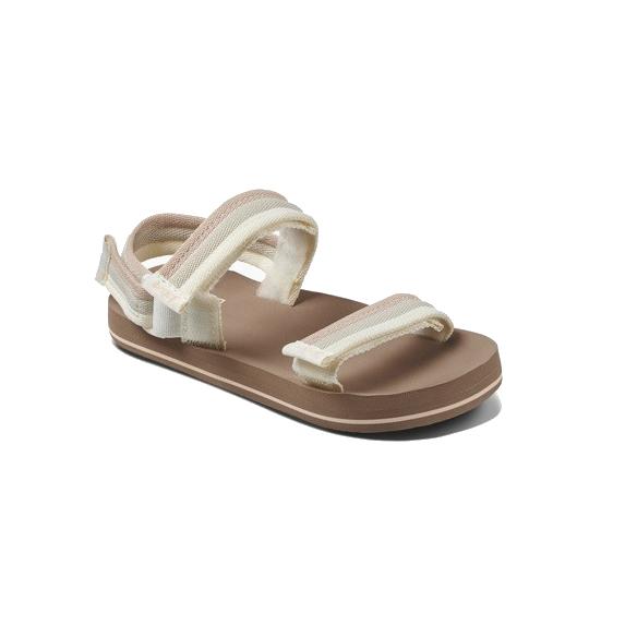 Reef LittleAHI +hak meisjes sandalen beige