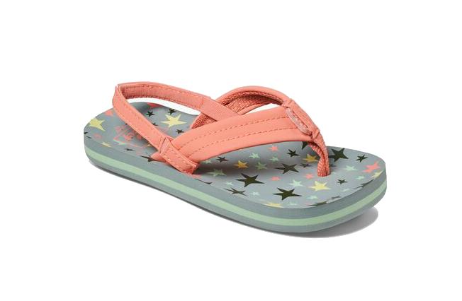 Reef LittleAHI t/m 33+hak meisjes sandalen koraal